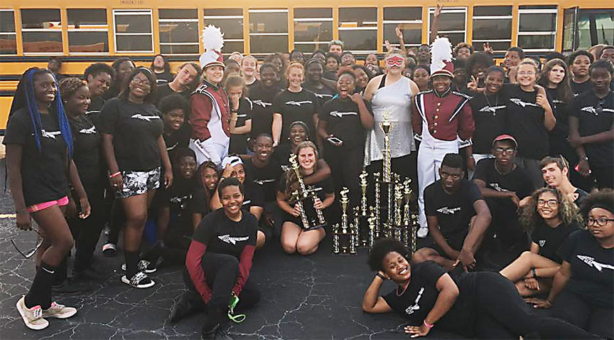 Band members successful in competition at Jonesboro